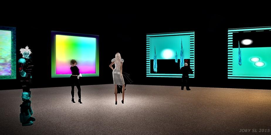 Moewes spontane Ausstellungeröffnung