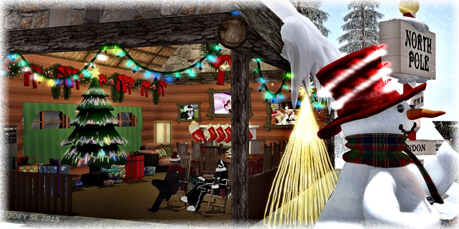Merry X-mas with the SL Sci-FiAlliance