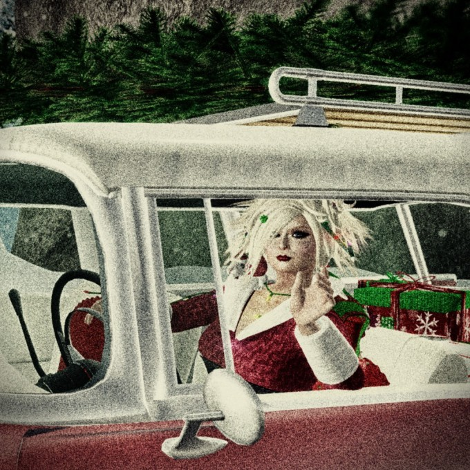 Driving X-mas_wink