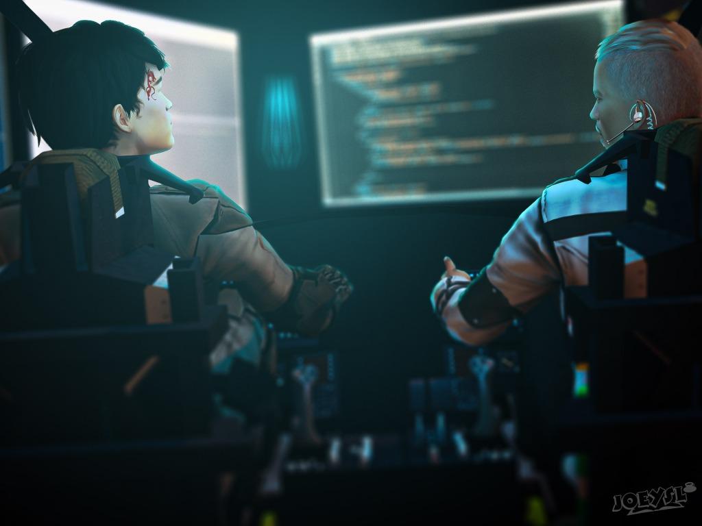 image: 'Worlsd Rising: Rebellion', Chapter 14 Part 2; (c) JoeySL 2020